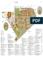 Rice University Color Campus Map