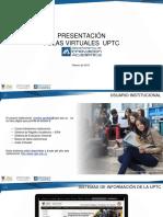 Presentación Aulas Virtuales UPTC