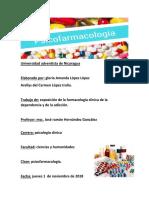 Expo de Farmacologia Clinica de La Dependencia y La Adiccion.
