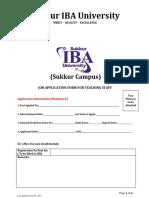 Job App Form-Teaching Staff ( Sukkur Campus).pdf
