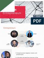 X and Y gen Entrepreneurs