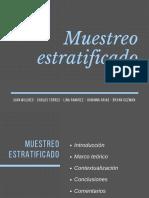 Muestreo Estratificado (1)