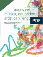 Conexiones Entre Musica Educacion Artistica y Lenguaje Eu07895573