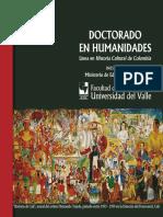 Folleto Línea Doctoral Historia de Colombia