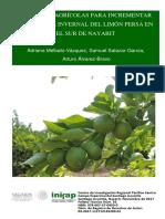 4721 Prácticas Agrícolas Para Incrementar La Cosecha Invernal Del Limón Persa en El Sur de Nayarit