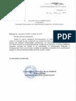 Raspuns ANP Actualizare Plata Cota Anuala Norma de Echipare - Penitenciare