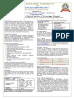 FDP Proposal