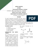 Informe Aldehidos y Cetonas. L