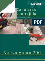 Canaletas Con Rejilla (Manual Tècnico)