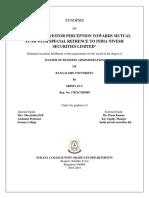 Sample Synopsis PDF