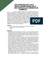Acta Cu 011-2014-Uladech Catlica