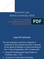 Business Law- Contract Law 1