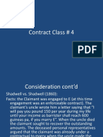 Contract Class 4 Consideration Contd