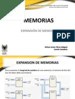 Expansión de Memorias