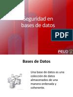 Modulo III Seguridad en Bases de Datos 004