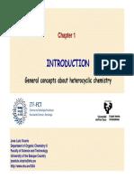 Heterocyclic Chemistry in pharma