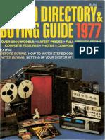 Vintage Stereo Catalog 1977