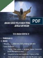 Tata Ibadah Bentuk IV New