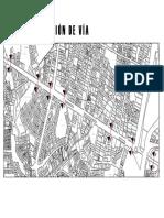 Plano de Cortes Seccion de Vias