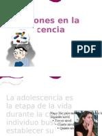 Adicciones en La Adolescencia
