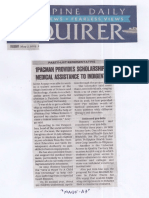 Philippine Daily Inquirer, May 7, 2019, 1Pacman provides scholarships, medical assistance to indigents.pdf