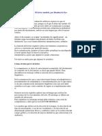 El Lector Modelo-Humberto Eco