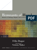Remnants of Hegel