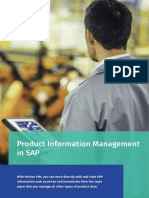 Perfion Product Information Management (PIM) in SAP