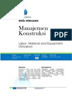 Modul5 Manajemen Konstruksi Elhazri