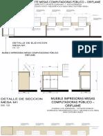 MOBILIARIO ORIFLAME- PISO 1- REHABILITACIÓN