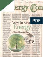 Energy Conserve EcoTimes 12-Dec-2008
