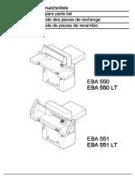 EBA 550 EBA 550 LT EBA 551 EBA 551  LT BA 551 LT.pdf