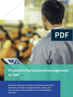 Perfion Produktinformationsmanagement (PIM) in SAP