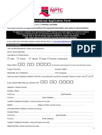 NPTCGroup International Application Form