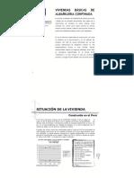 1.0 Sistema Albañileria Confinada Situacion de Una Vivienda Común