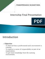 Internship Final Report (PT. Pamapersada Nusantara)