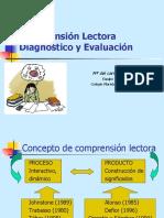 Comprensión lectora. Diagnóstico y evaluación