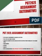 PGT202E assignment (alternative).pptx
