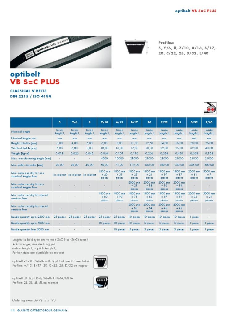 V Belt 17x2616 Li Standard B103