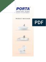 Sanitaryware Brochure