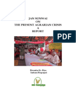 The Agrarian Crisis in India