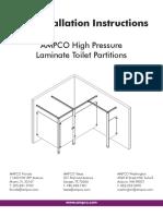 High Pressure Laminate (HPL) Installation Instruction
