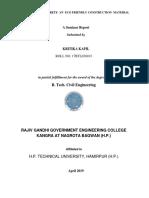 Seminar on Geopolymer