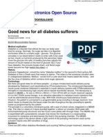 Good News for All Diabetes Sufferers