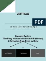 Management of Vertigo