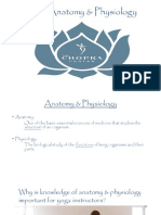 Yoga Anatomy Physiology by Chopra