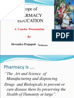 Scope of pharmacy
