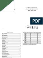 Manual Must Solar Pv18000hm