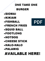 BUY ONE TAKE ONE BURGER.docx