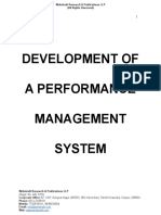 Development of a Performance Management System [www.writekraft.com]